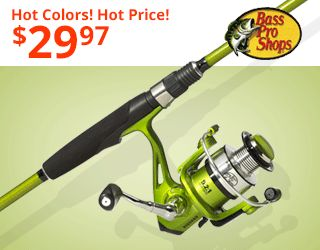 Bass Pro Shops Viper Spinning Rod & Reel Combo