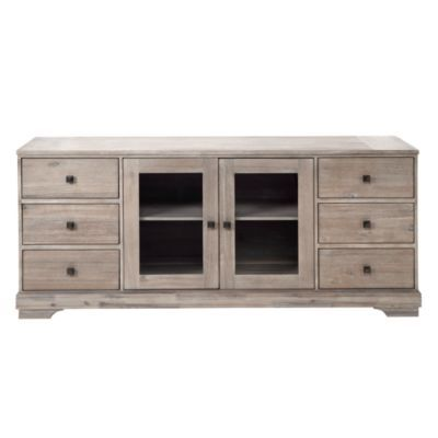 Archer Wash Oak Media Chest