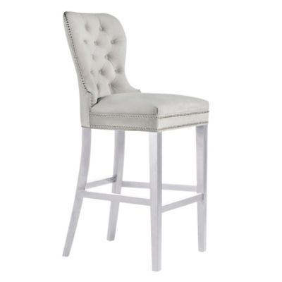 Charlotte Stool - High Gloss White