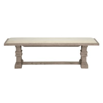 Archer Natural Grey Wood Bench