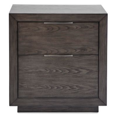 London 2 Drawer Nightstand