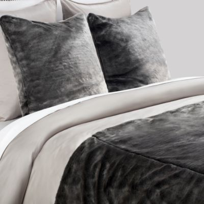 York Bedding Collection - Black/Silver