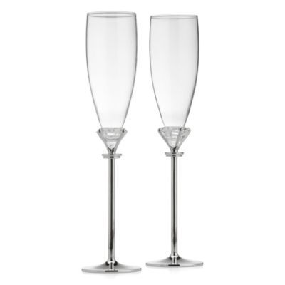 Diamond Flutes - Set of 2