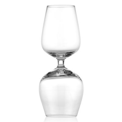 Gemini Double Sided Wine Glass -...