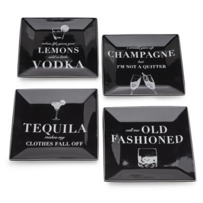 Cocktail Confessions Plates - Se...