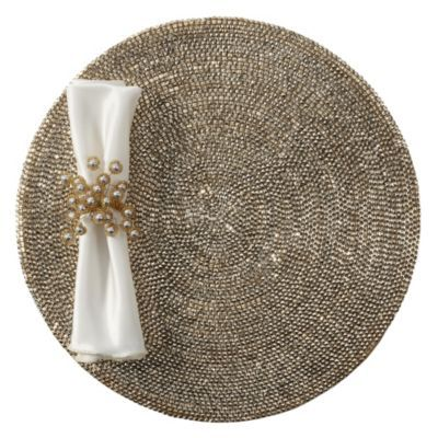 Metallic Studded Placemat - Set ...