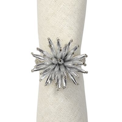 Starburst Napkin Ring - Set of 4