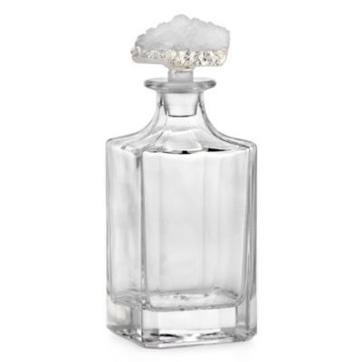 White Geode Decanter