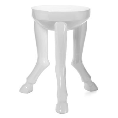 Hoof Legged Accent Table