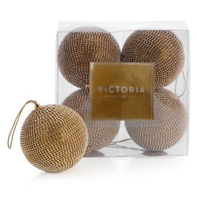 Victoria Ornament - Set of 4