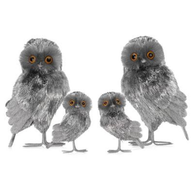 Tinsel Owl - Set of 2