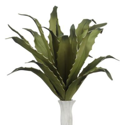 Faux Mini Agave Plant - Set of 3