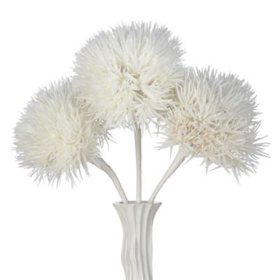 Faux Allium Stem - Set of 3