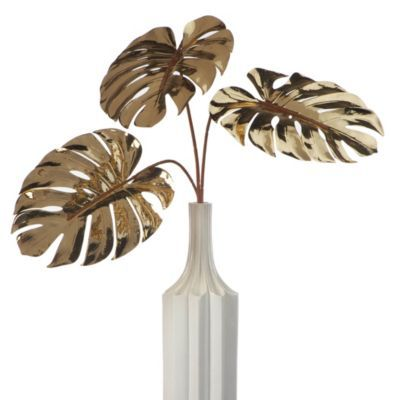 Faux Split Philo Leaf - Set of 3