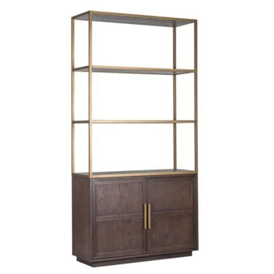 Marlin 2 Door Bookcase