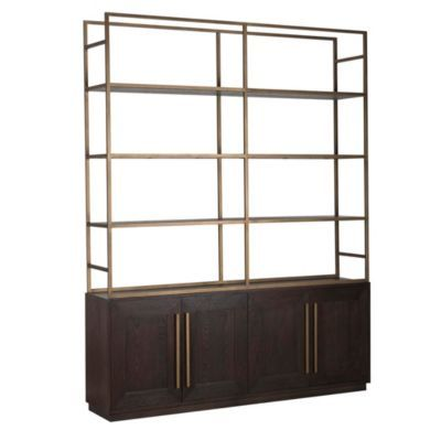 Marlin 4 Door Bookcase