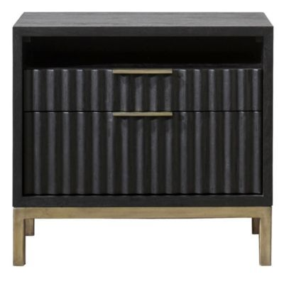 Brent 2 Drawer Nightstand