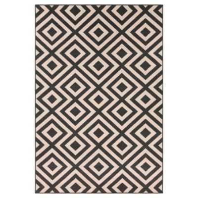 Drake Outdoor Rug - Black