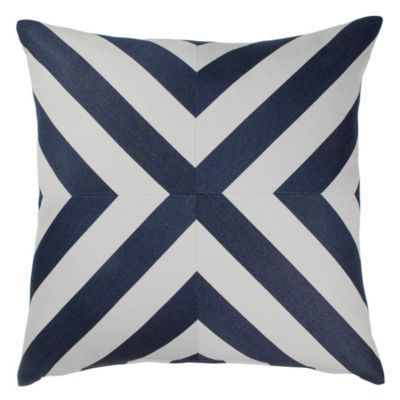 Mod X Stripe Outdoor Pillow