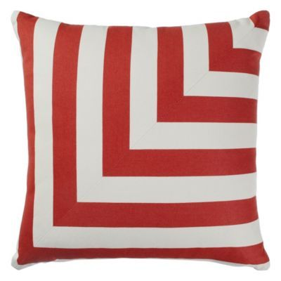 Mod L Stripe Outdoor Pillow