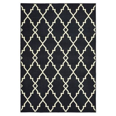 Boca Outdoor Rug - Black
