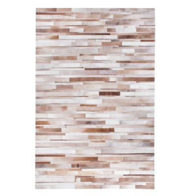Montara Hair On Hide Rug - Tan