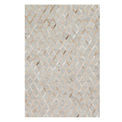 Caswell Hair On Hide Rug - Grey/...