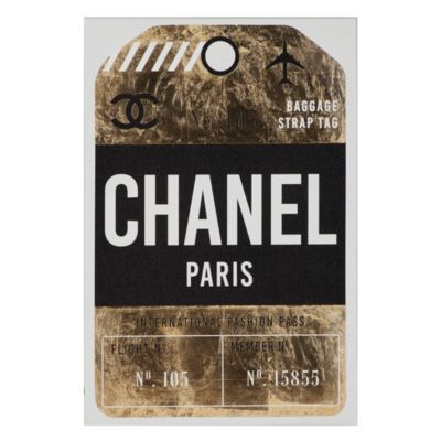 Fashion Pass Luggage Tag