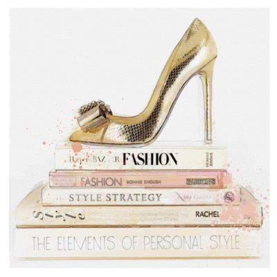 Gold Shoes Blush Books