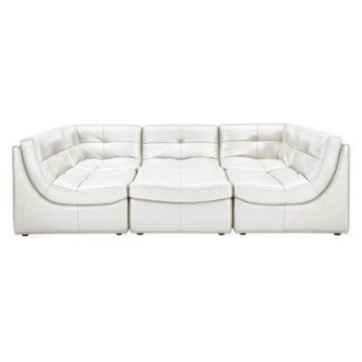 Convo Sectional - White