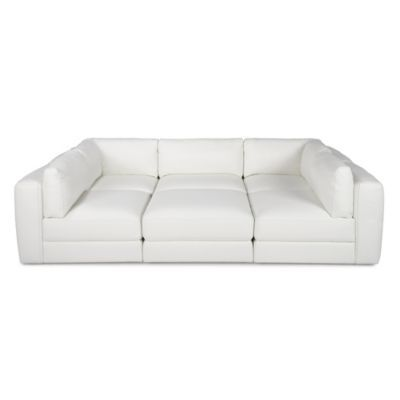 Stratus Sectional - White