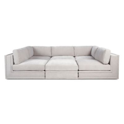 Luka Pit Sectional - 6 PC