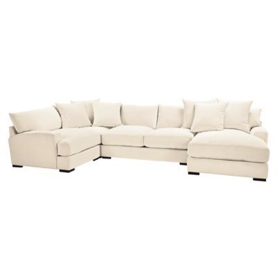Stella Chaise Sectional - 4 PC