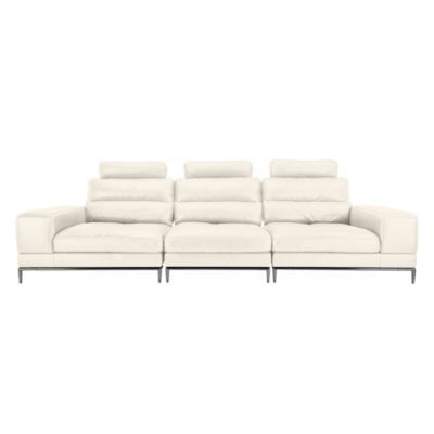Jude Sectional - White