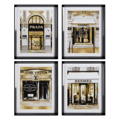 Fashion Storefronts - Set of 4