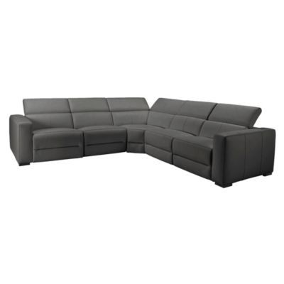 Verona Sectional 5PC - Charcoal
