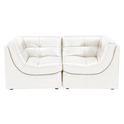 Convo Sofa 2PC - White