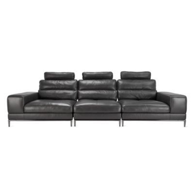 Jude Sectional - Charcoal