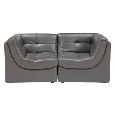Convo Sofa  2PC - Charcoal