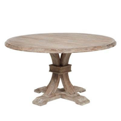 Archer Wash Oak Fixed Pedestal D...