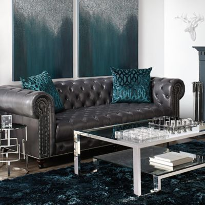 Leather Wakefield Living Room Inspiration