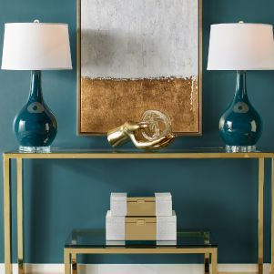 Gold Duplicity Entryway Inspiration