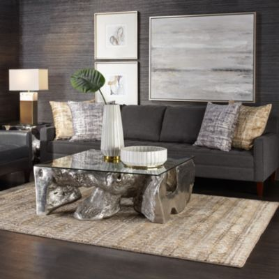 Vapor Leather Living Room Inspiration