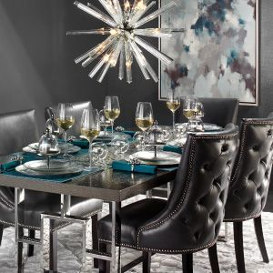 Leather Rylan Dining Room Inspiration