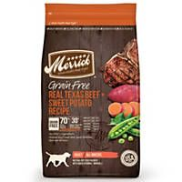 Merrick Grain Free Real Texas Beef + Sweet Potato Dry Dog Food