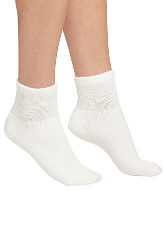 Main Women's 3-Pack Diabetic Socks - Ankle