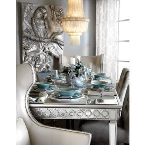 Sophie Mirrored Dining Table