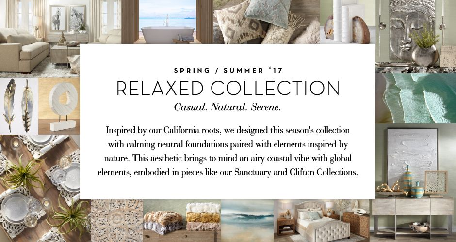 The Relaxed Collect - Casual. Natural. Serene.