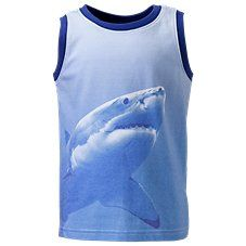 Bass Pro Shops Shark Muscle Tank for Toddlers or Boys