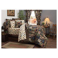 Bass Pro Shops The Lake Bedding Collection Bed in a Bag Bedding Set